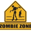 Zombie Zone Sign
