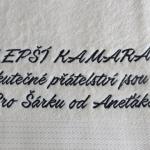 pošitý ručník, výšivka na ručníku rucnik-vysivka-text3