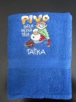 pošitý ručník, výšivka na ručníku vysivka-rucnik_-2702