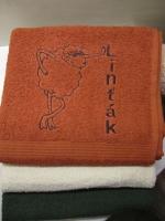 pošitý ručník, výšivka na ručníku vysivka_rucnik6