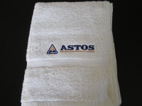 pošitý ručník, výšivka na ručníku vysivka_rucnik_-logo