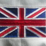 Vlajky erby výšivka