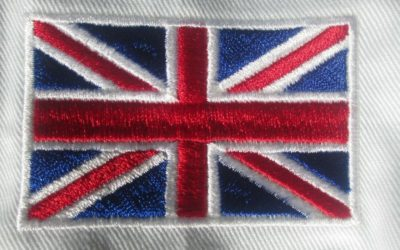 Výšivky vlajek a erbů