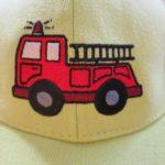 hasiči výšivky
