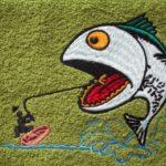 rybaří výšivky