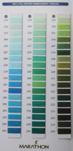 polyester barevnice